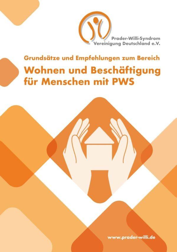 Titelbild Broschüre Wohnen & Beschäftigung beim Prader-Willi-Syndrom
